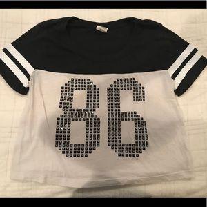 """Pink VS """"86"""" T Shirt"""